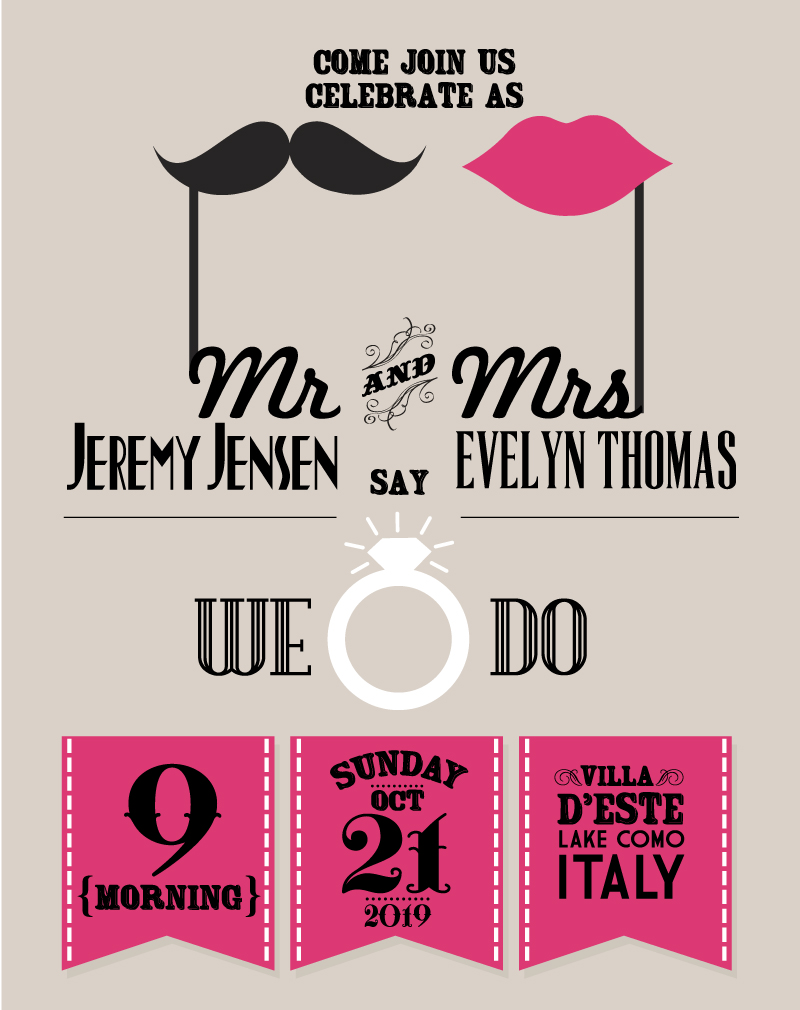 800x1010 Wedding Day Invitation Card Vector Free Vector Graphic Download