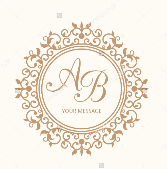 585x592 Wedding Logo Template Free Psd, Eps, Ai, Illustrator Format