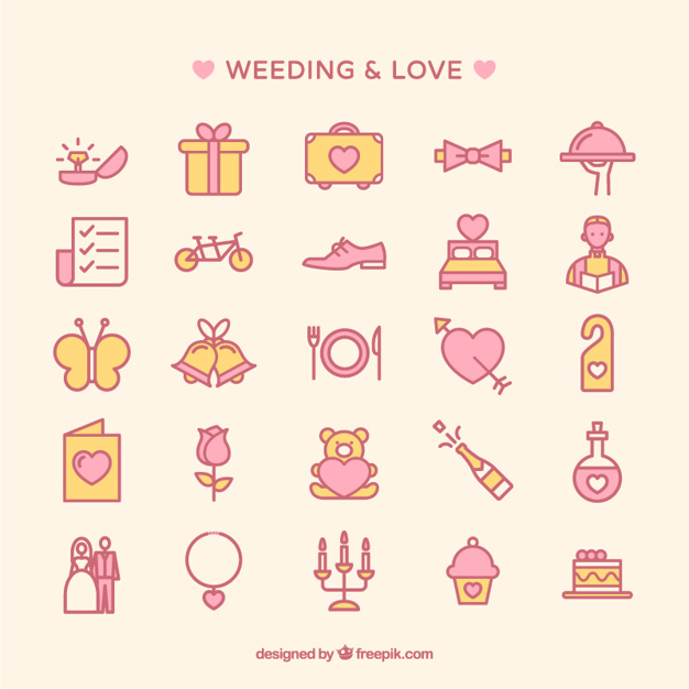 626x626 Free Wedding Vector Icon 224515 Download Wedding Vector Icon
