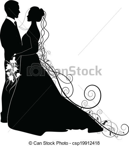 413x470 Kopel Clipart Wedding Vector