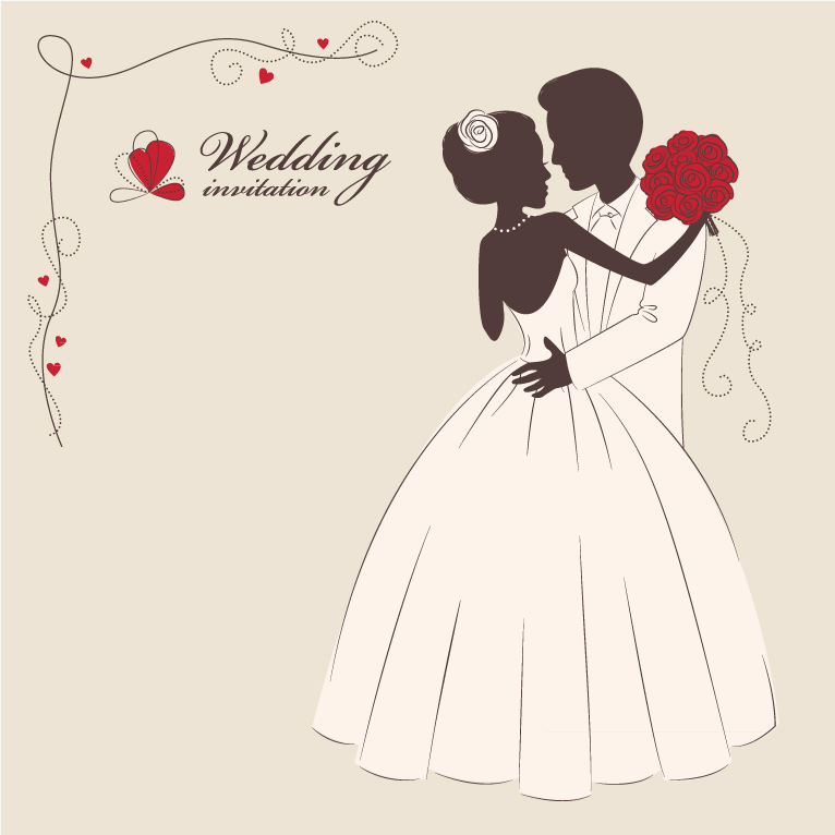 766x766 Wedding Invitation 2 Free Vector Graphic Download