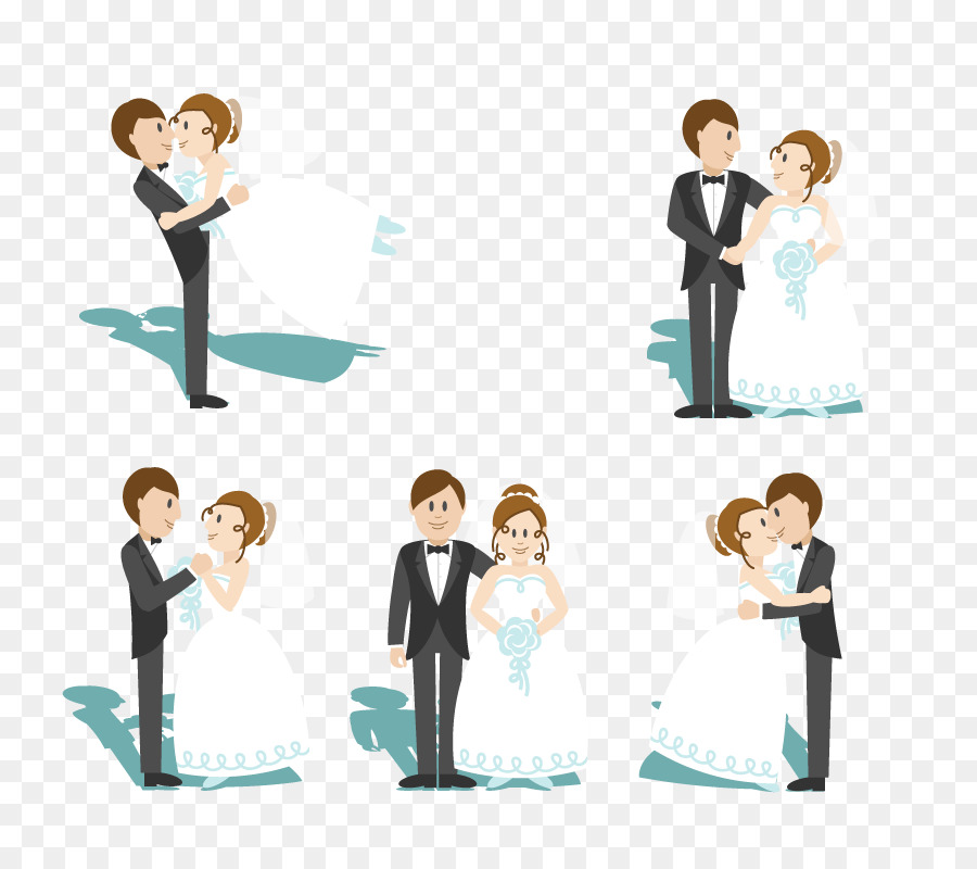 900x800 Cartoon Marriage Wedding