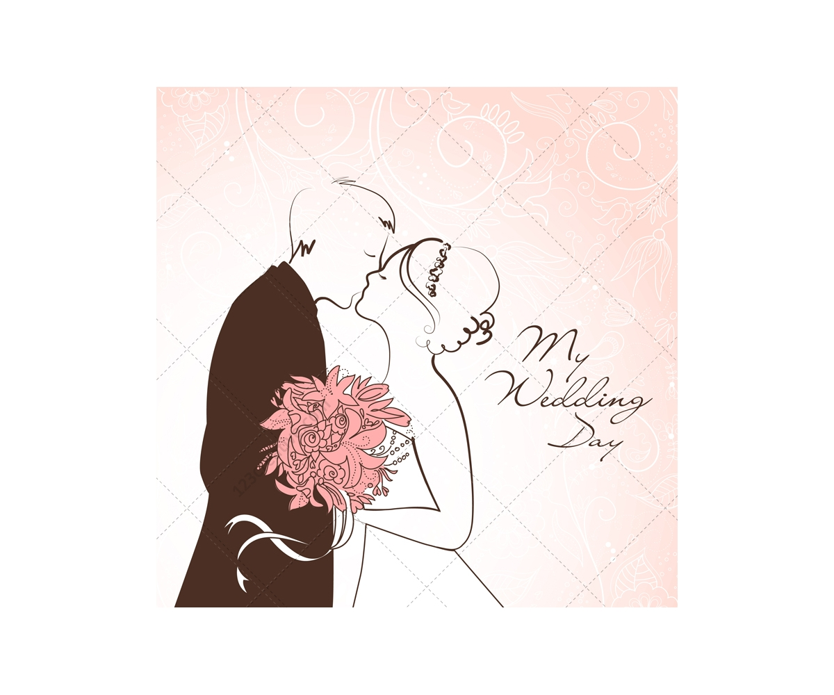 1200x1000 Christian Wedding Card Vector New Wedding Card Vectors With