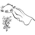 150x150 Veil Clipart Bridal Veil