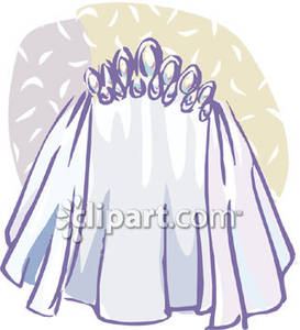Wedding Veil Vector At Getdrawingscom Free For Personal Use