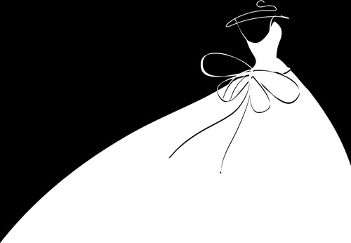 500x346 Wedding Dress Veil Free Vector Download (1,979 Free Vector) For