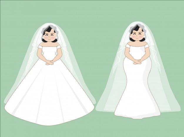 626x469 Wedding Fat Set Fat Person Vector Premium Download
