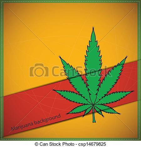450x470 Cannabis Leaf. Decorative Background With Cannabis Leaf.