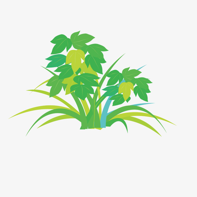 650x651 Vector Dark Green Weed Grass, Green Vector, Weed Vector, Grass