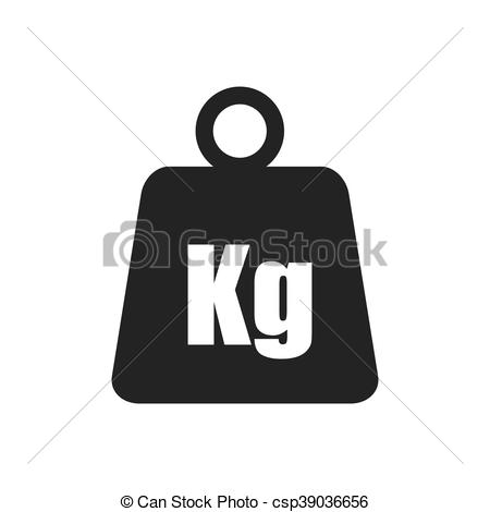 450x470 Metal Weight Kilogram Heavy Icon. Vector Graphic. Metal Weight