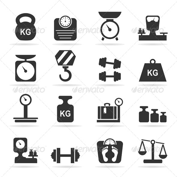 590x590 Weight Icon Vector