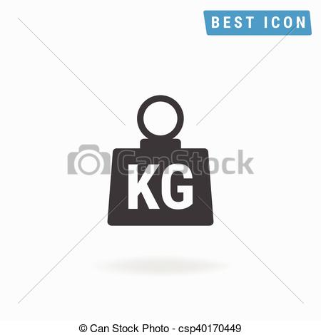 450x470 Weight Icon Vector, Weight Icon Flat Eps10.