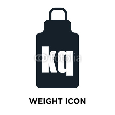 400x400 Weight Icon Vector Isolated On White Background, Weight Sign Buy