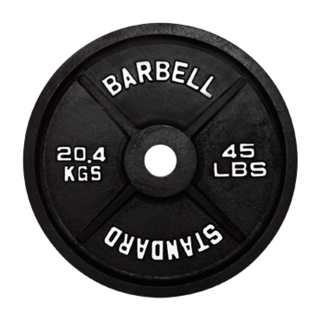 650x650 19 Barbell Clip Black And White Barbell Plate Huge Freebie