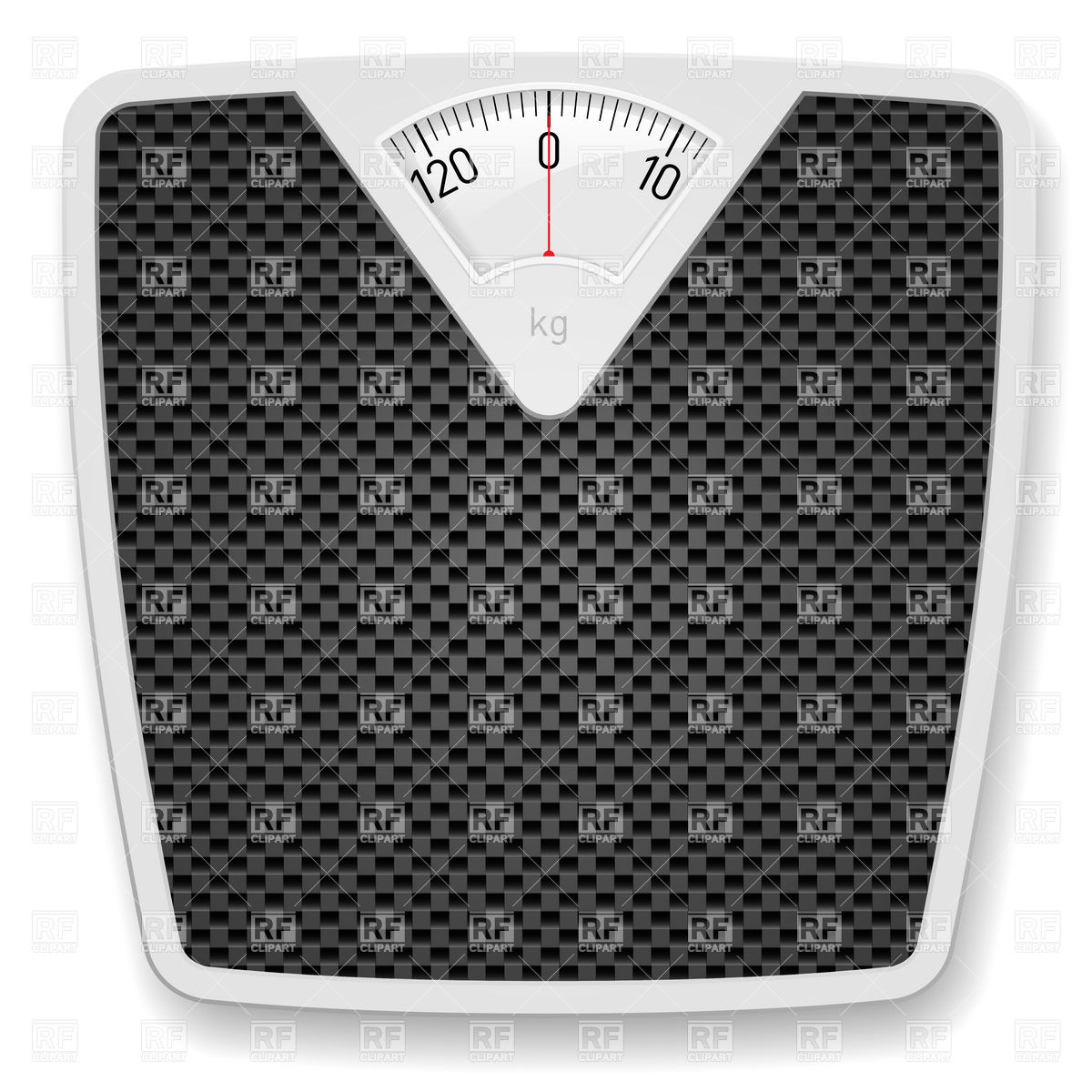 1200x1200 Bathroom Weight Scales Vector Image Vector Artwork Of Objects