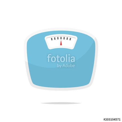 500x500 Weight Scale Vector Stock Image And Royalty Free Vector Files On