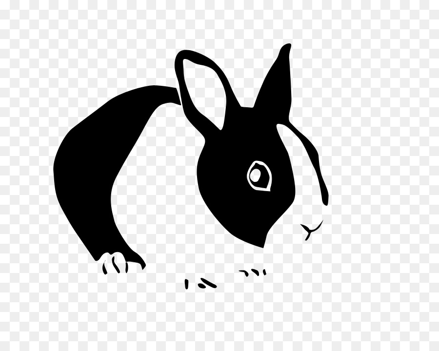 900x720 Hare Easter Bunny Netherland Dwarf Rabbit Wall Decal