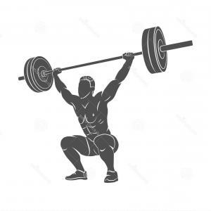 300x300 Stock Illustration Powerlifting Athletic Logo Set Arenawp