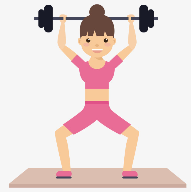 650x651 Weightlifting Woman, Woman Vector, Woman Clipart, Weightlifting