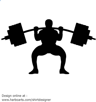 335x355 Download Weightlifting Silhouette