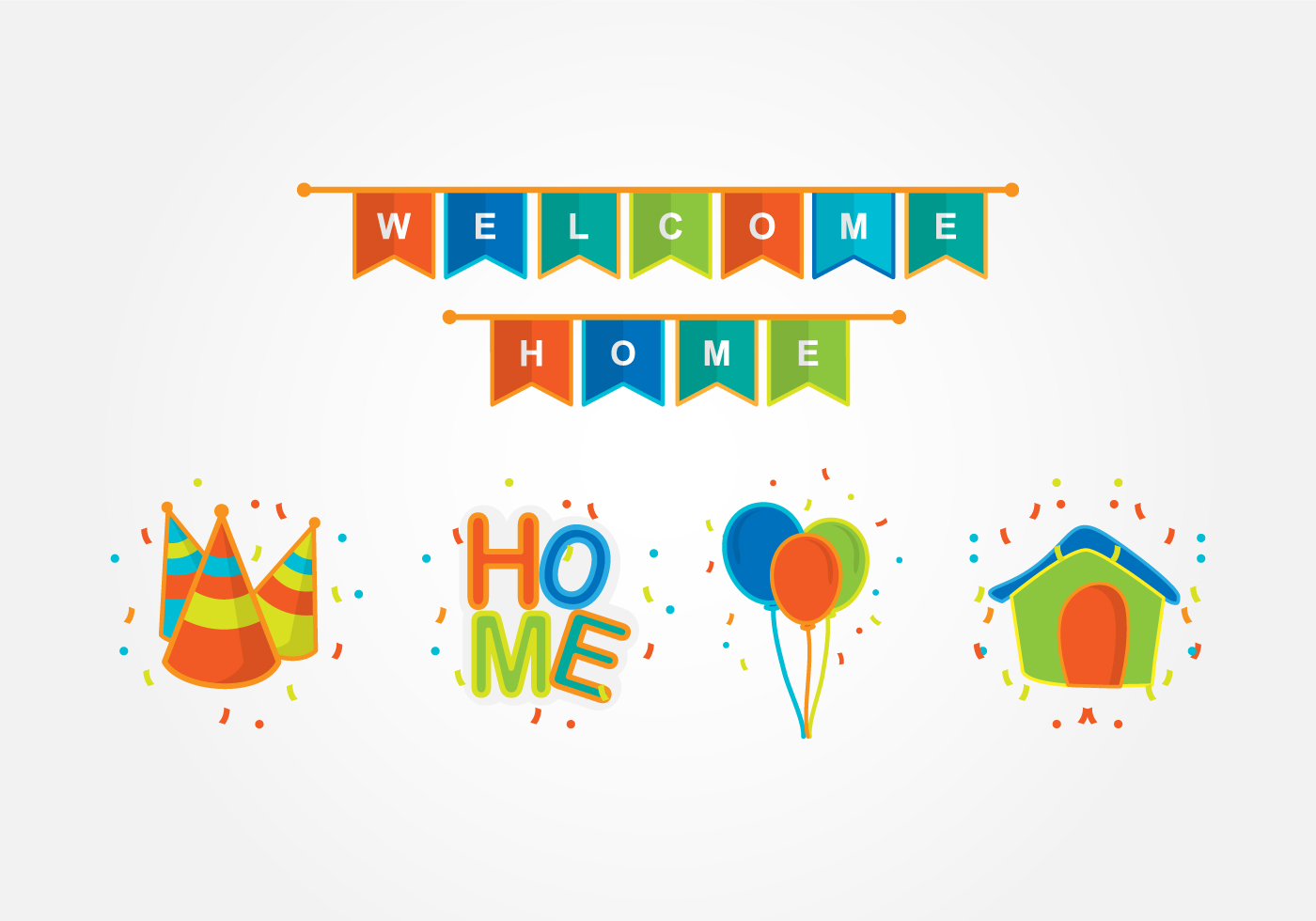 1400x980 Welcome Poster Free Vector Art