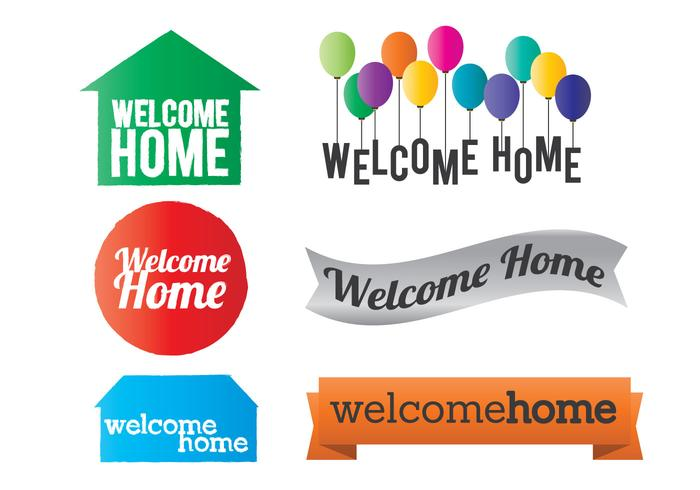 700x490 Welcome Home Vector