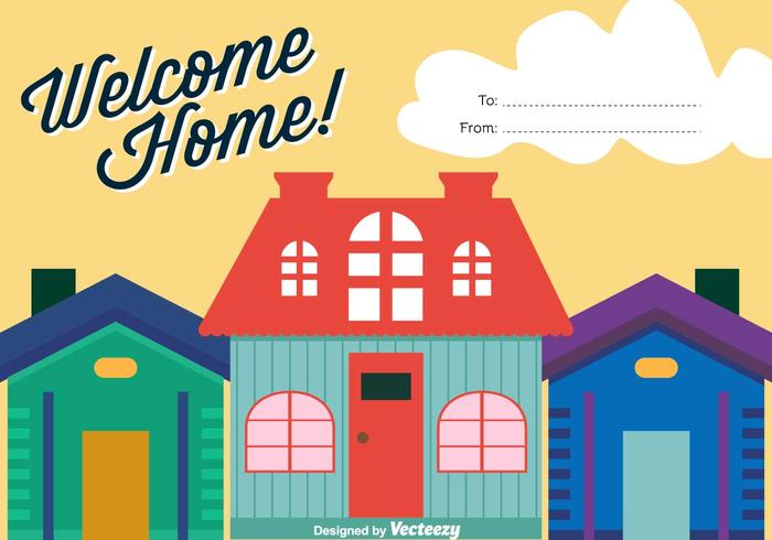 700x490 Welcome Home Vector Background