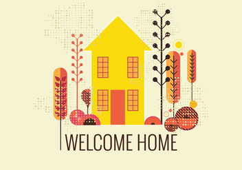 352x247 Welcome Home Vector Free Vector Download 353779 Cannypic