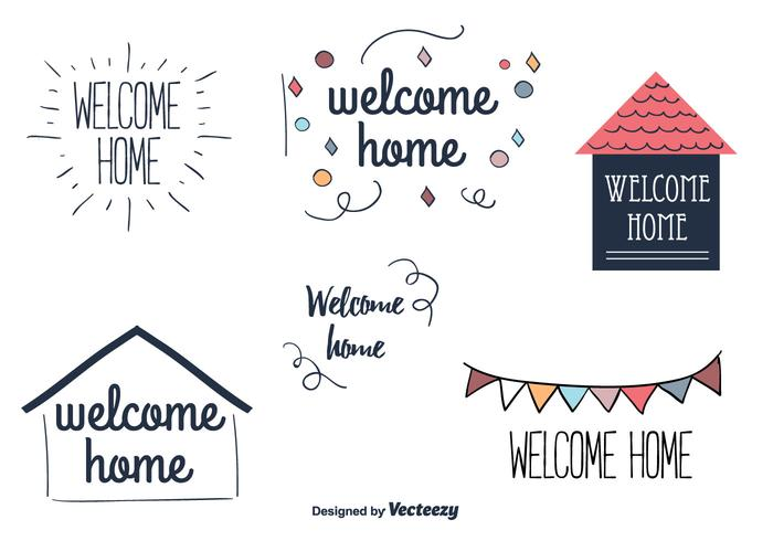 700x490 Welcome Home Vector Labels
