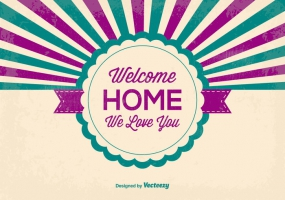 285x200 Welcome Background Free Vector Graphic Art Free Download (Found