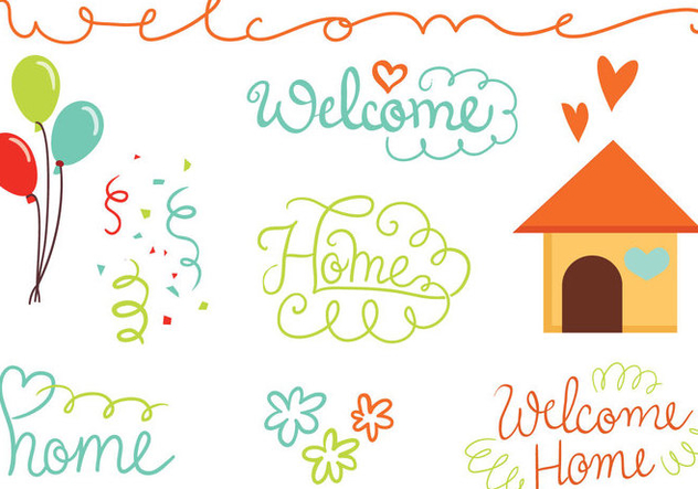632x443 Free Welcome Home Vectors Free Vector Download 393475 Cannypic