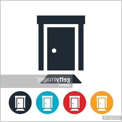 416x416 Front Door Welcome Mat Really Encourage Front Door Icon Vector