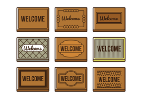 Welcome Mat Vector At Getdrawings Free Download