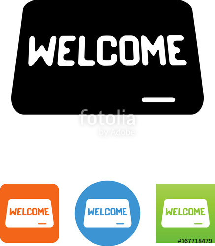 437x500 Welcome Mat Icon