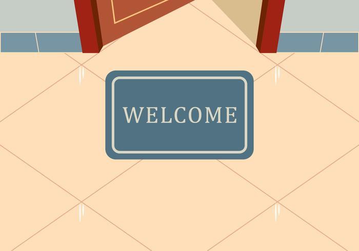 700x490 Welcome Mat Vector