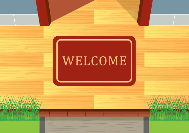 632x443 Welcome Mat Vector Free Vector Download 398531 Cannypic