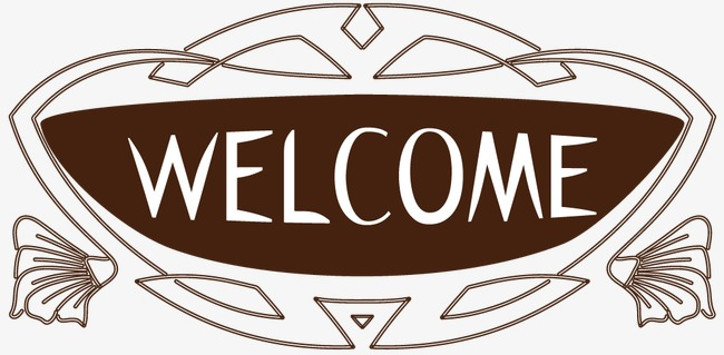 650x319 Clothing Store Welcome Welcome Sign Decorative Borders, Decorative