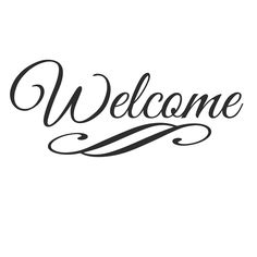 236x236 Welcome Hand Lettering