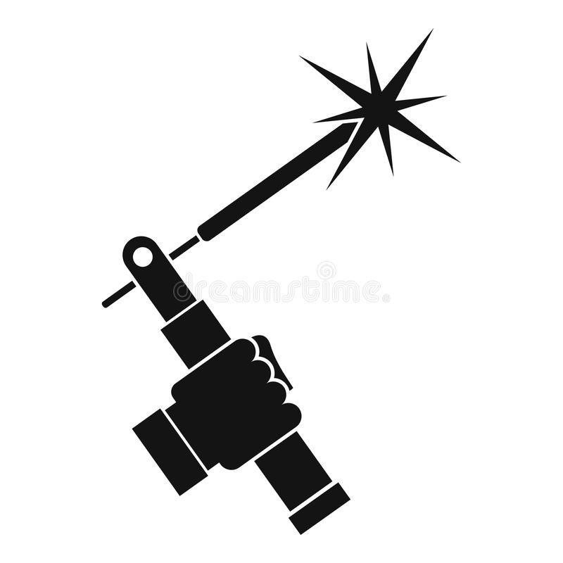 800x800 Download Mig Welding Torch In Hand Icon Simple Stock Vector