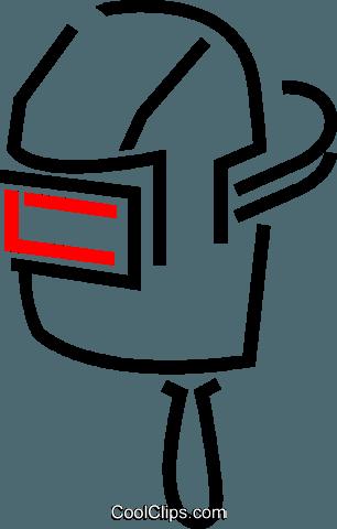 306x480 Welding Mask Royalty Free Vector Clip Art Illustration Vc049174