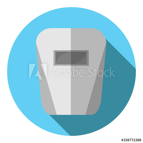 500x500 Vector Image Of A Welding Mask