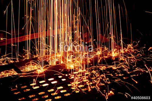 500x332 Red Hot Welding Sparks Stock Photo And Royalty Free Images On