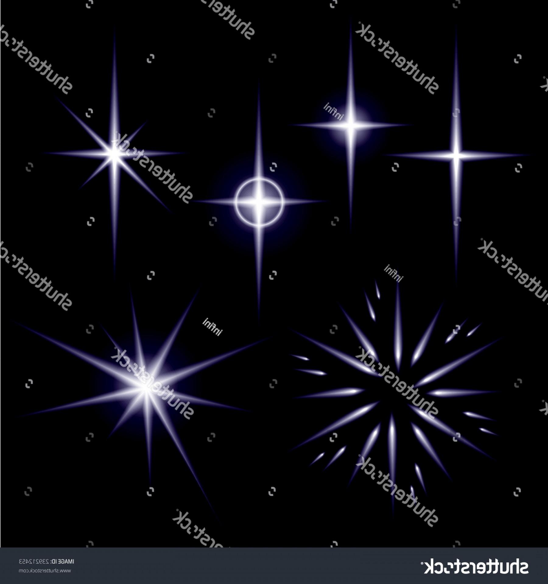 1800x1918 Set Shiny Spark Stars Vector Illustration Shopatcloth