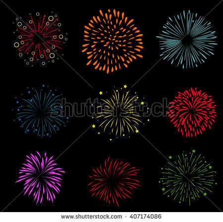 450x448 Festive Sparks Fireworks Illustration Desktop Wallpaper Nouveau