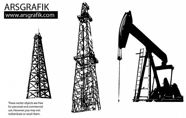 626x396 Oil Well Vectors Vector Free Download