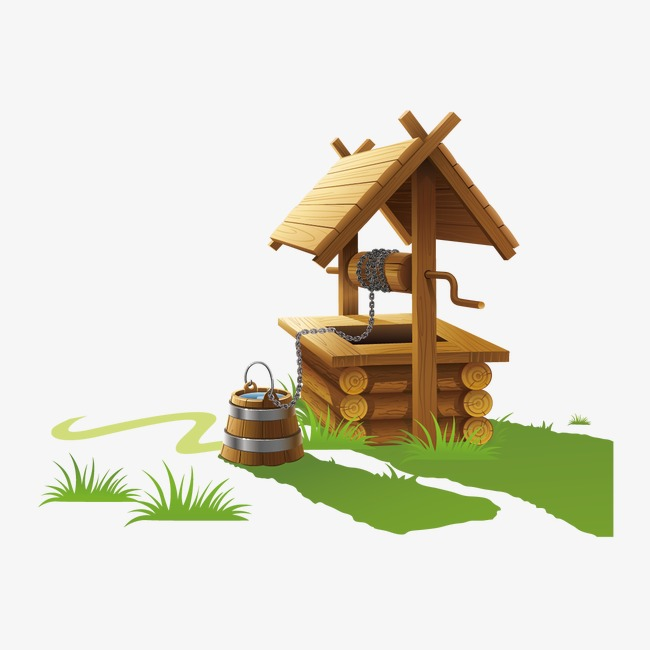 650x650 Wells And Wood Building, Well, Bucket, Building Png And Vector For