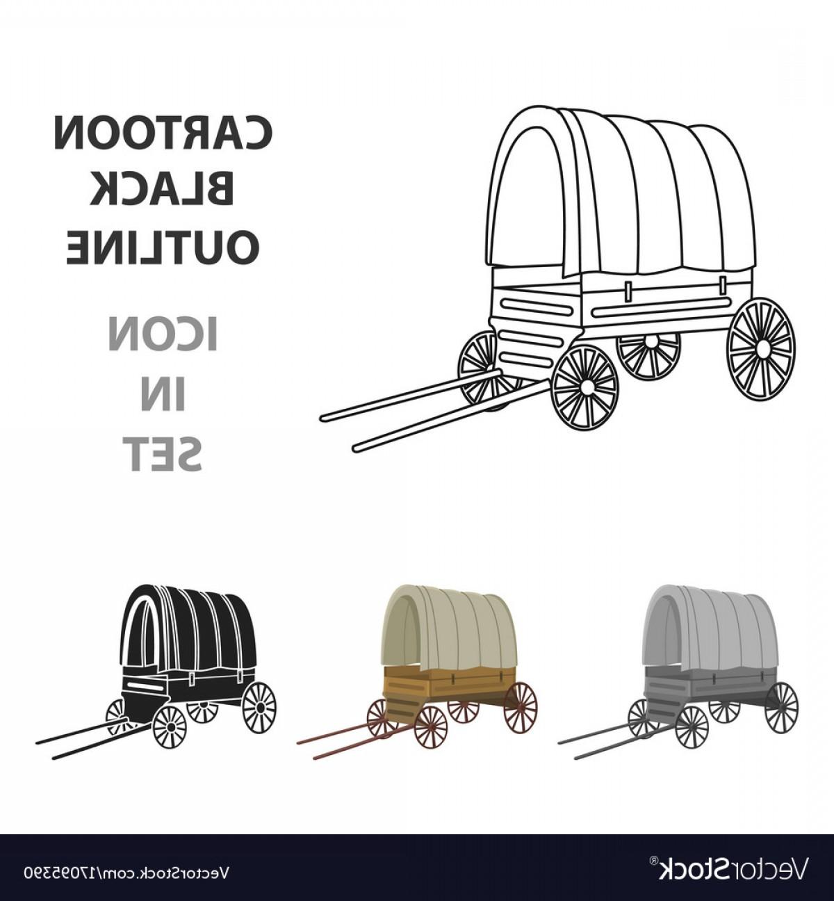 1200x1296 Cowboy Wagon Icon Cartoon Singe Western Icon From Vector Orangiausa