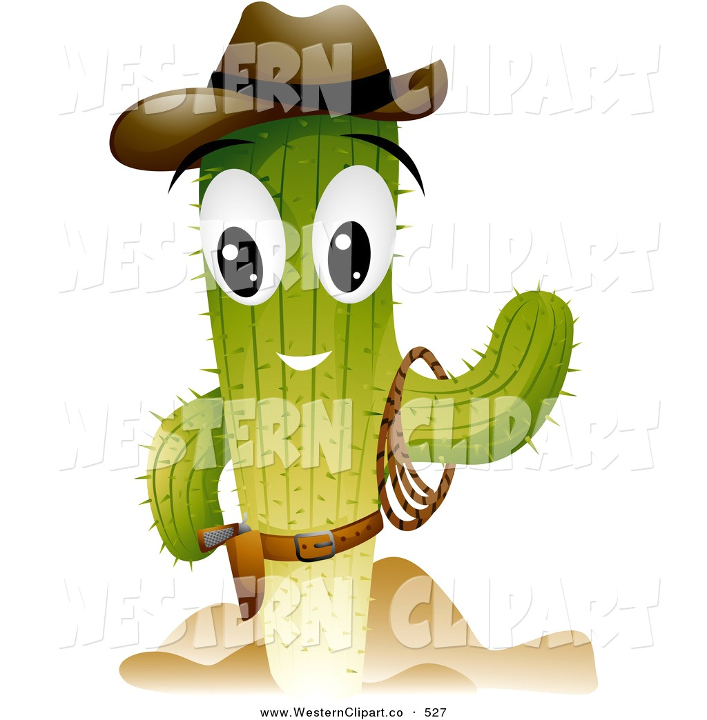 1024x1044 Cute Cowboy Clipart Vector Western Clip Art Of A Cactus Character