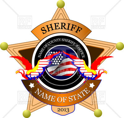 400x380 Western Clipart Best Of Sheriff S Badge Police Emblem With Star
