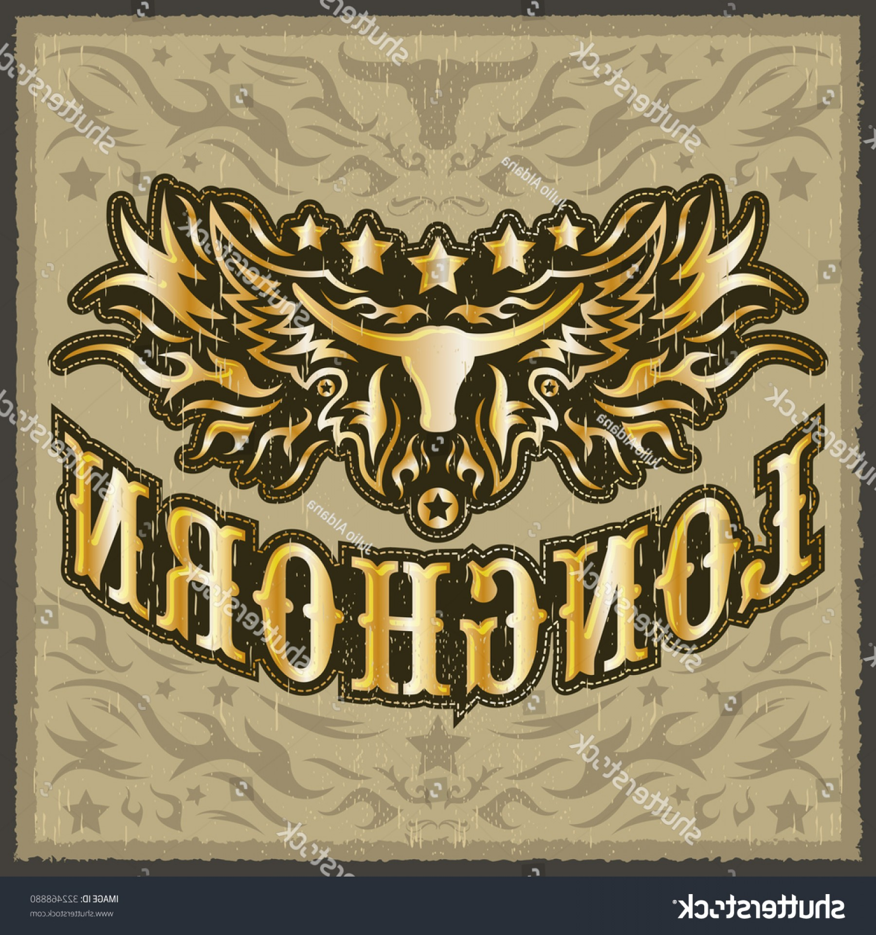 1800x1920 Longhorn Vintage Western Vector Design Rodeo Shopatcloth